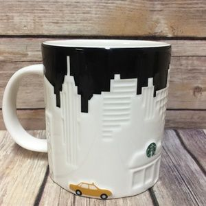 Starbucks New York City Mug Skyline Taxi